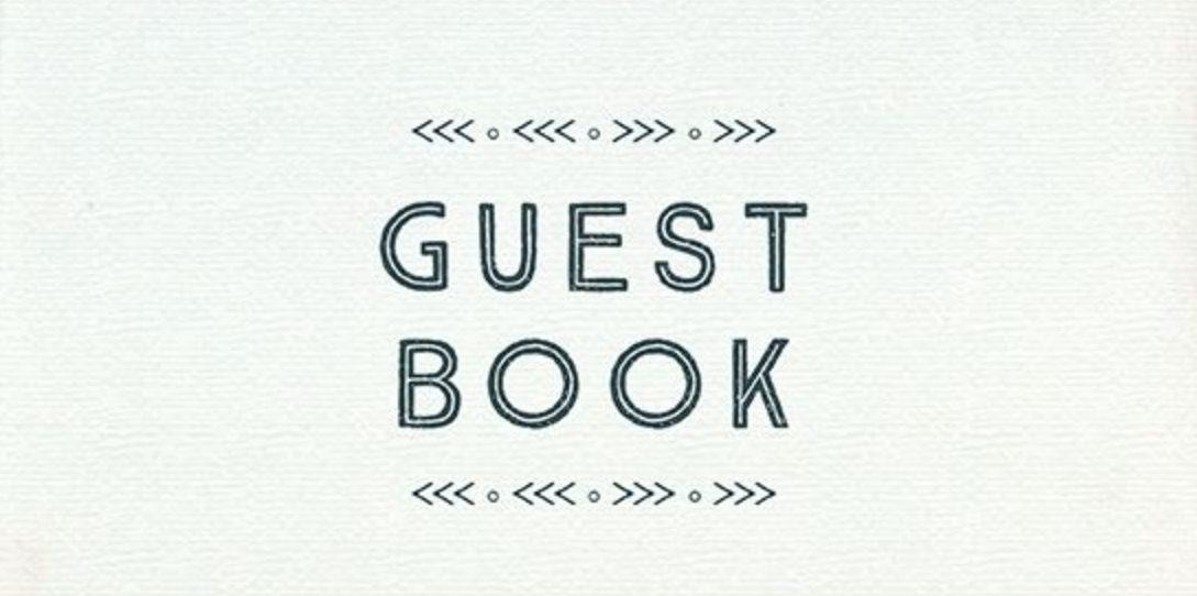 Yosemite Oaks Guest Book